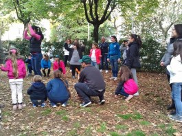 La macchia, bambini al parco, assolamacchia
