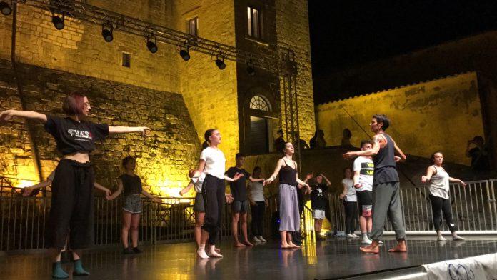 maenza, danza nel borgo, associazione la macchia, lazio, comune di maenza