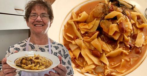 lacchene e fasoli, sezze, prodotti tipici